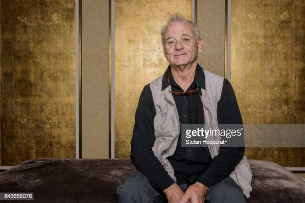 Bill Murray poses for a photo during Universal Inside 2017 organized by Universal Music Group at MercedesBenz Arena on September 6 2017 in Berlin...