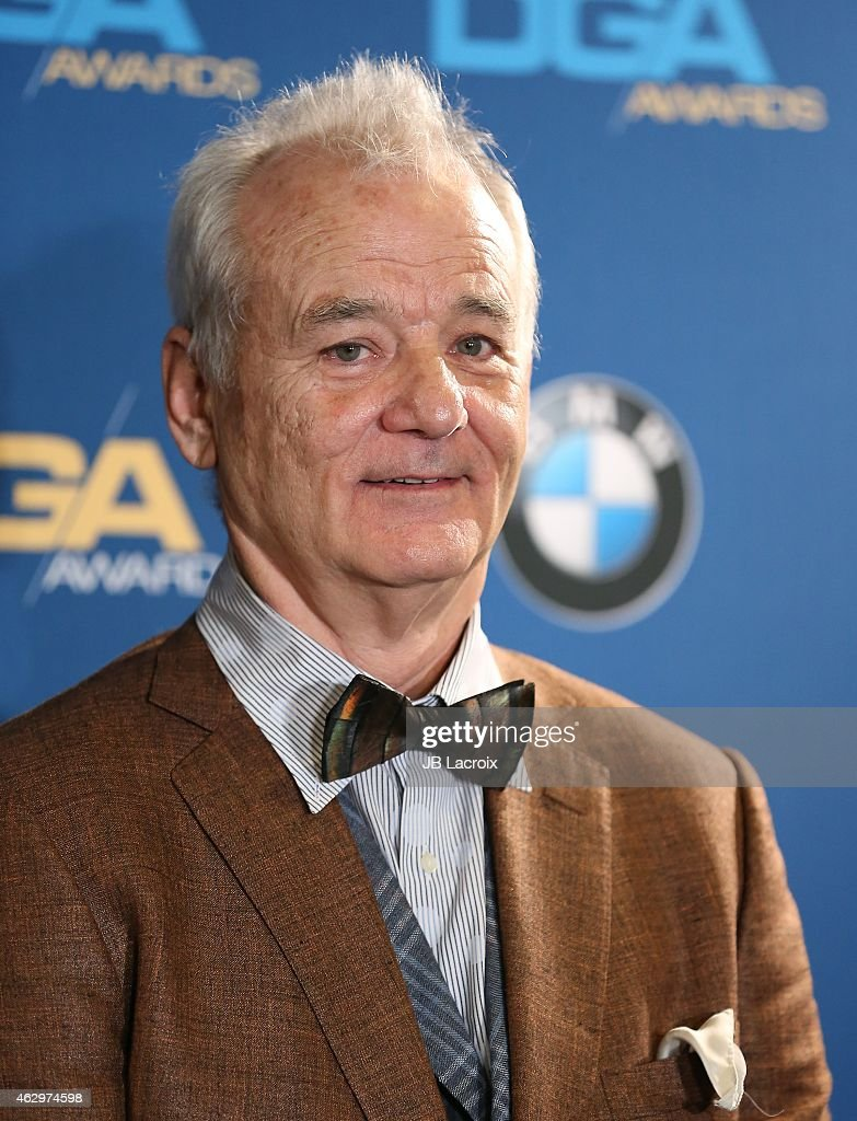 Bill Murray poses in the press room at the 67th Annual Directors Guild Of America Awards at the Hyatt Regency Century Plaza on February 7, 2015 in Century City, California.