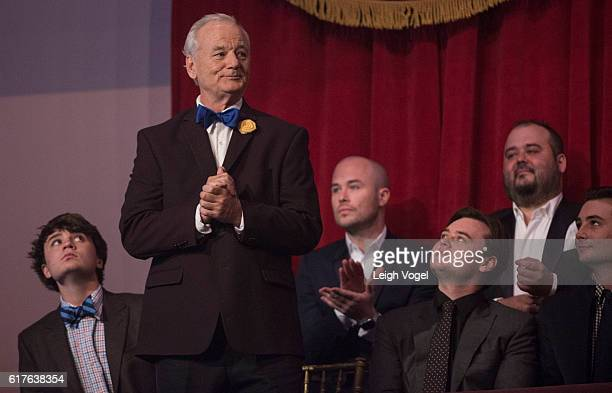 Bill Murray receives the 19th Annual Mark Twain Prize at the Kennedy Center on October 23 2016 in Washington DC