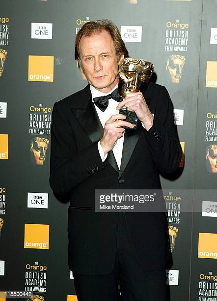 Bill Nighy winner of Best Supporting Actor for 'Love Actually'