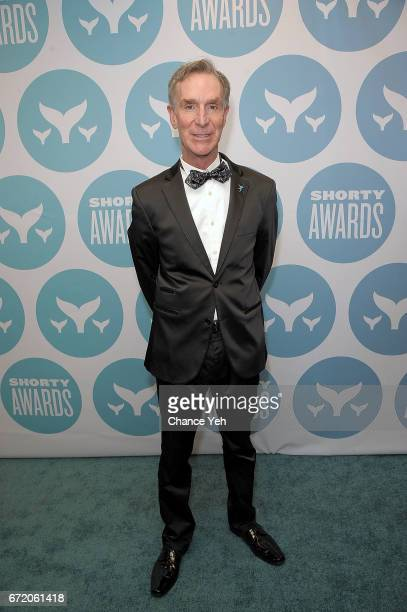 Bill Nye attends 9th Annual Shorty Awards at PlayStation Theater on April 23 2017 in New York City