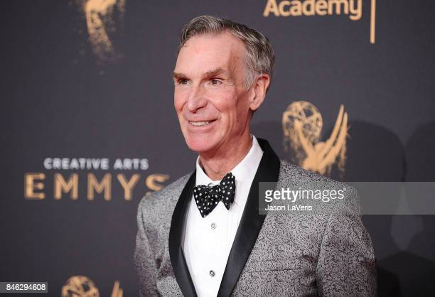 Bill Nye attends the 2017 Creative Arts Emmy Awards at Microsoft Theater on September 9 2017 in Los Angeles California