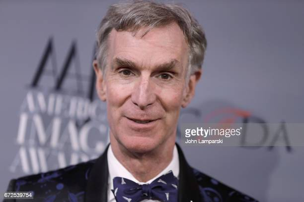 Bill Nye attends the 39th annual AAFA American Image Awards at 583 Park Avenue on April 24 2017 in New York City
