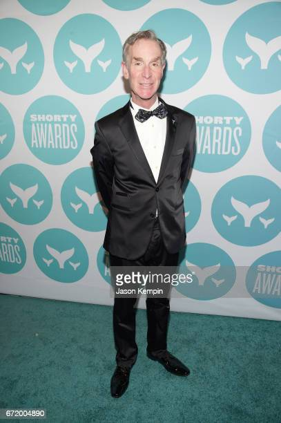 Bill Nye attends The 9th Annual Shorty Awards at PlayStation Theater on April 23 2017 in New York City