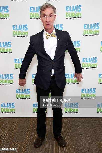 Bill Nye visits 'The Elvis Duran Z100 Morning Show' at Z100 Studio on April 19 2017 in New York City