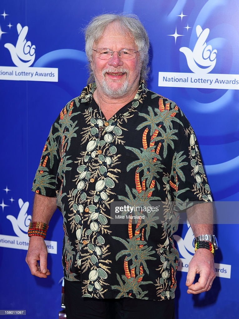 <a gi-track='captionPersonalityLinkClicked' href=/galleries/search?phrase=Bill+Oddie&family=editorial&specificpeople=1619763 ng-click='$event.stopPropagation()'>Bill Oddie</a> attends The National Lottery Awards 2012, celebrating the UK's favourite Lottery-funded projects and the difference they make to their communities at The London Studios on December 8, 2012 in London, England.