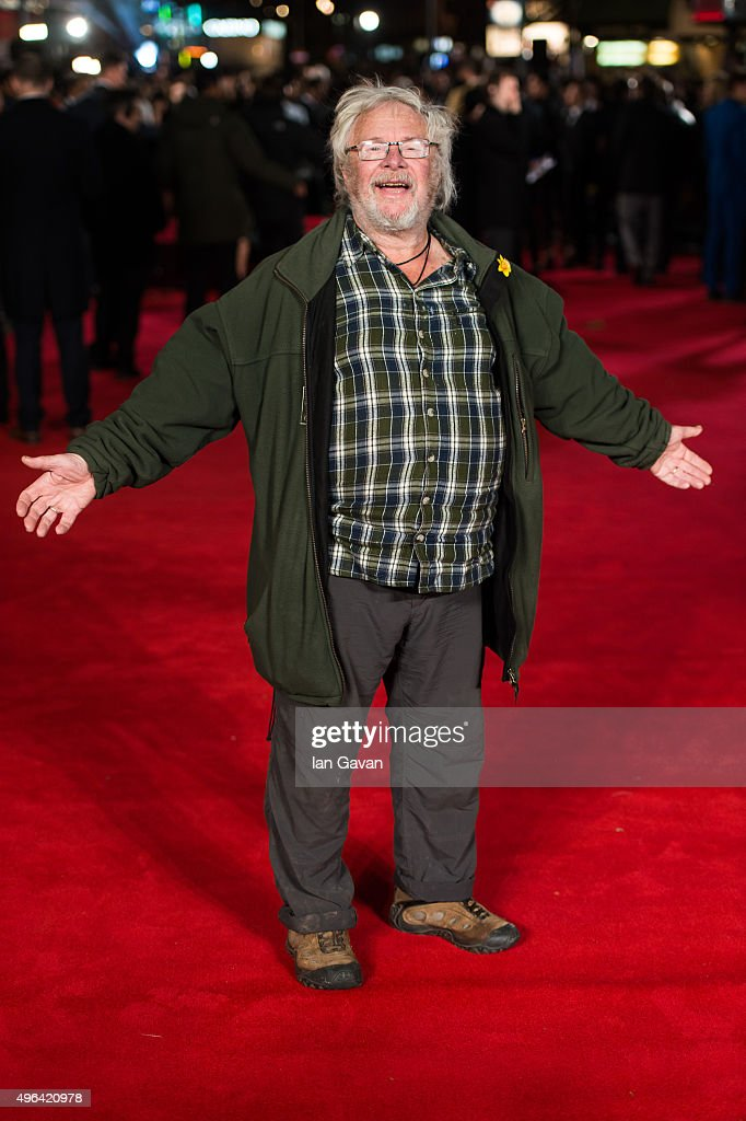 Bill Oddie attends the World Premiere of 'Ronaldo' at Vue West End on November 9, 2015 in London, England.