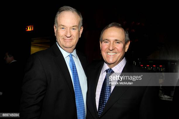 Bill O'Reilly and Walter Anderson attend PARADE MAGAZINE and SI Newhouse Jr honor Walter Anderson at The 4 Seasons Grill Room on March 31 2009 in New...
