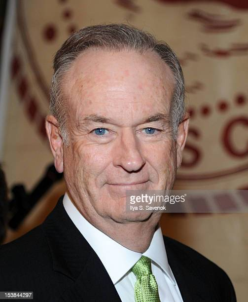 Bill O'Reilly attends the signing of the book 'Thank The Liberals For Saving America' at the New York Friars Club on October 9 2012 in New York City