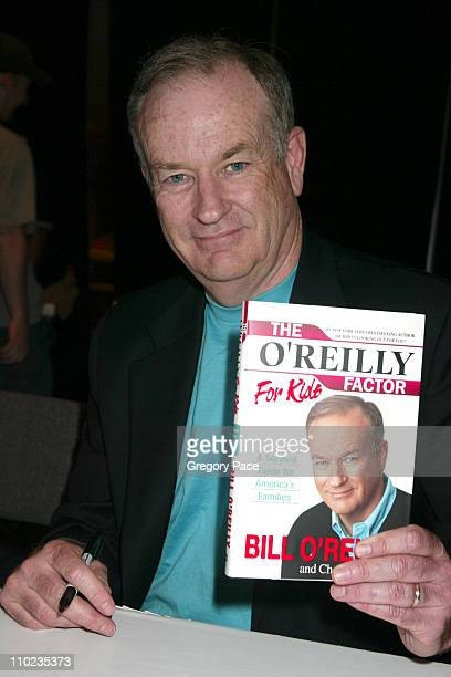 Bill O'Reilly during 2005 BookExpo America Day One at Jacob Javits Center in New York City New York United States