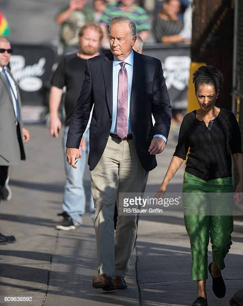 Bill O'Reilly is seen 'Jimmy Kimmel Live' on September 21 2016 in Los Angeles California