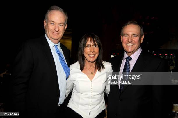 Bill O'Reilly Sandi Mendelson and Walter Anderson attend PARADE MAGAZINE and SI Newhouse Jr honor Walter Anderson at The 4 Seasons Grill Room on...