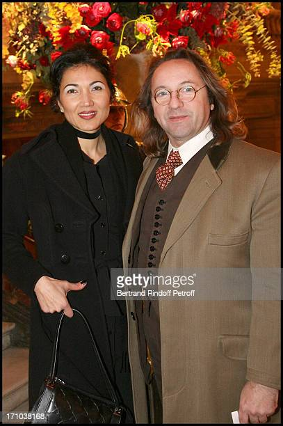 Bill Pallot and Bina Daswani at Tribute To The Russian Ballets For The Centenary Of Their Created Work At Palais Garnier In Paris