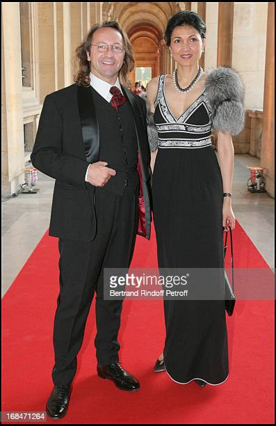 Bill Pallot and Bina Lloyd at Liaisons Au Louvre Fundraiser At Galerie Borghese Daru At The Louvre In Paris