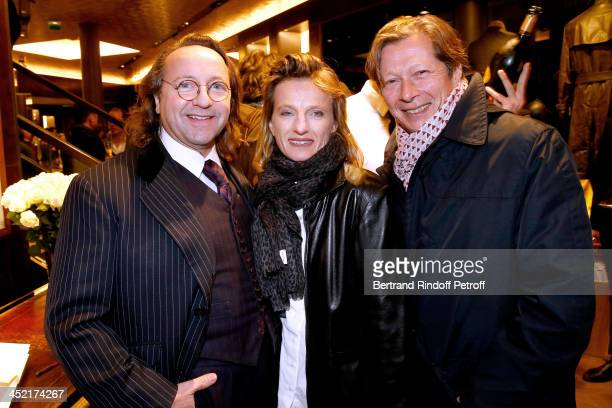 Bill Pallot Gallery owners Emmanuelle de Noirmont and her husband Jerome de Noirmont attend Berluti Flagship Store Opening on November 26 2013 in...