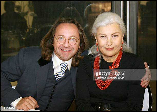 Bill Pallot Marie Seznec at The Societe Des Amis Du Musee National D'Art Moderne Dinner At The Pompidou Centre In Paris