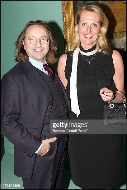 Bill Pallot Susanne Van Hagen at The Private View Of The Exhibition Manet Inventor Of The Modern At Musee D'Orsay To Fundraise For The Friends Of The...