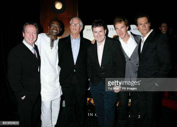Bill Paterson Youssou N'Dour director Michael Apted Jeremy Swift Benedict Cumberbatch and Ioan Gruffudd arrive for the UK Premiere of Amazing Grace...