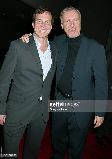 Bill Paxton and James Cameron