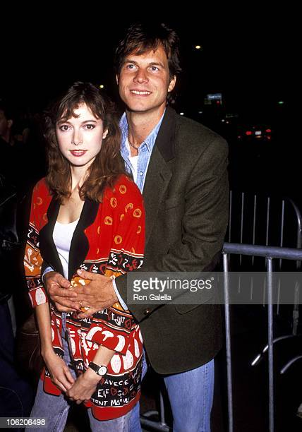 Bill Paxton and Louise Newbury during Premiere of 'The Dark Backward' at Nuart Theatre in Los Angeles California United States