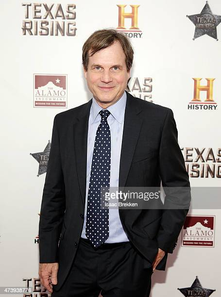 Bill Paxton arrives at the 'Texas Honors' event to celebrate the epic new HISTORY miniseries 'Texas Rising' at the Alamo on May 18 2015 in San...