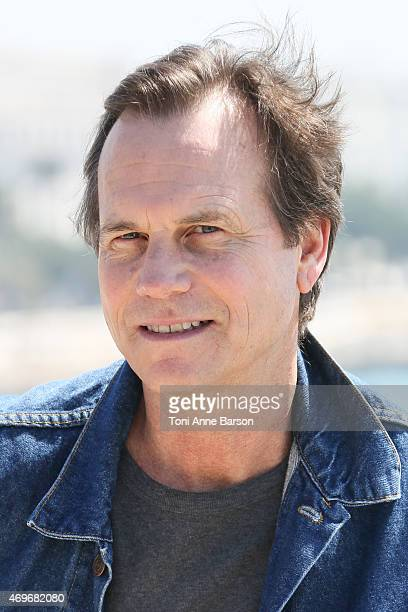 Bill Paxton attends Texas Rising Photocall as part of MIPTV 2015 on April 13 2015 in Cannes France