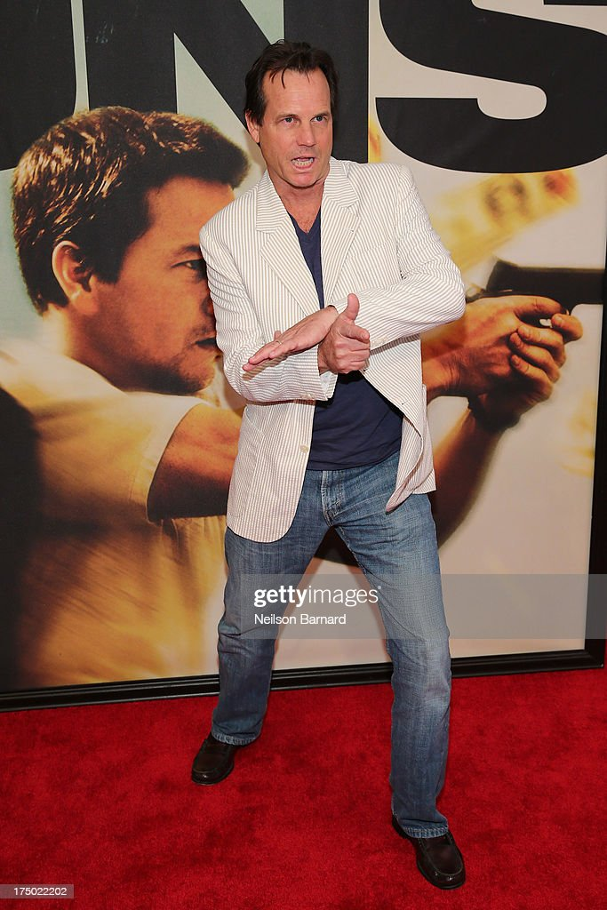 <a gi-track='captionPersonalityLinkClicked' href=/galleries/search?phrase=Bill+Paxton&family=editorial&specificpeople=241223 ng-click='$event.stopPropagation()'>Bill Paxton</a> attends the '2 Guns' New York Premiere at SVA Theater on July 29, 2013 in New York City.
