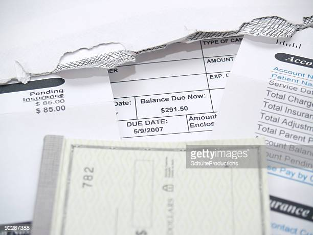 Bill Payment Statement with Check book