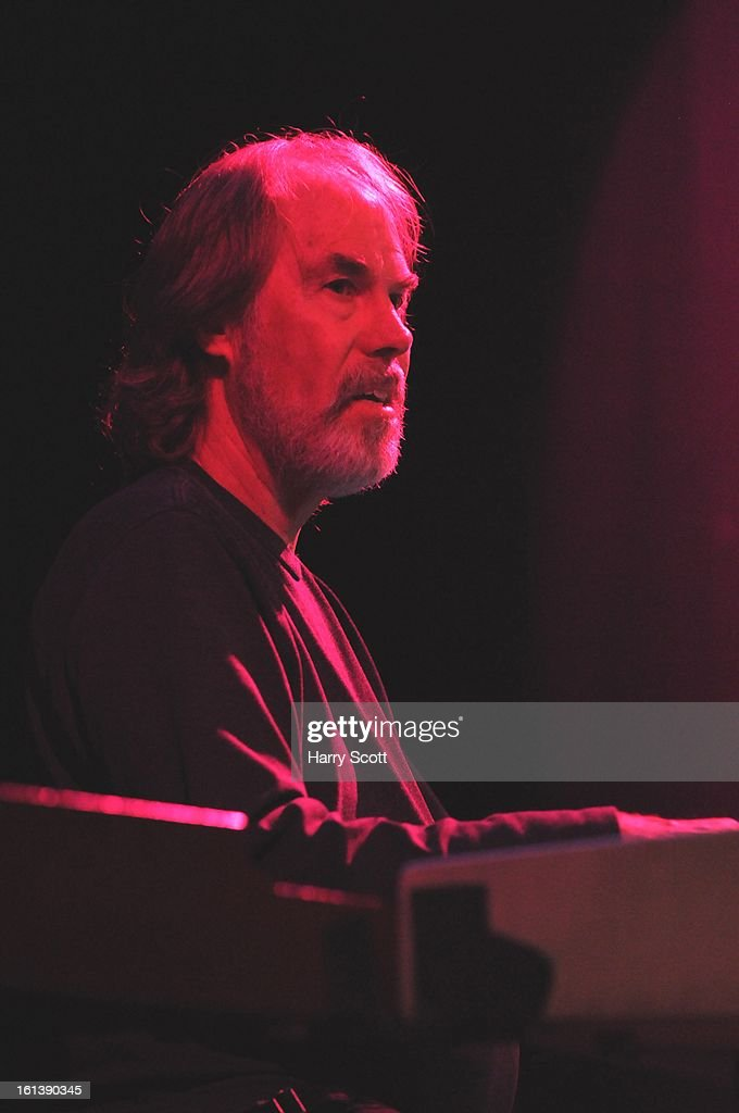 Bill Payne of Little Feat performs on stage at Norwich UEA LCR on February 10, 2013 in Norwich, England.