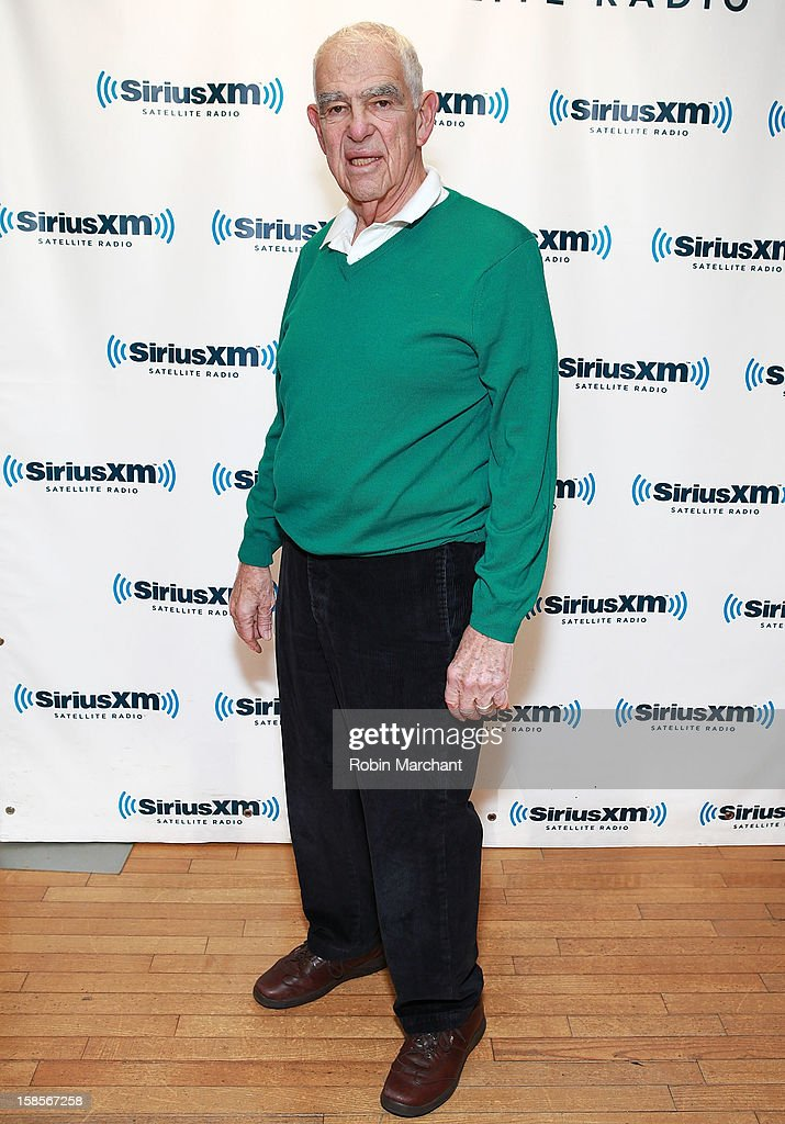 Bill Persky visits the SiriusXM Studios on December 19, 2012 in New York City.