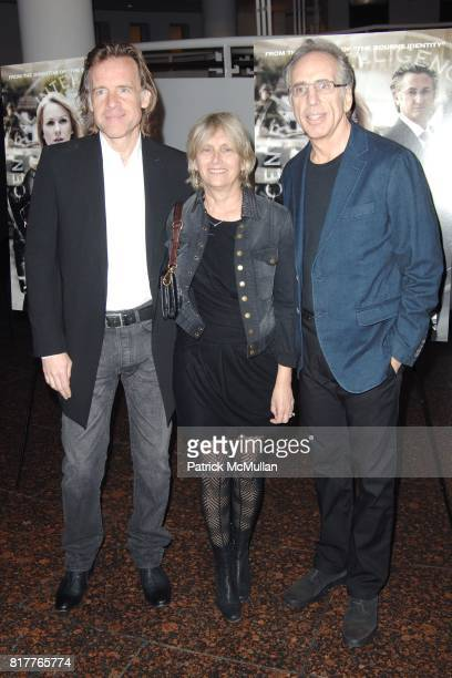 Bill Pohlad Janet Zucker and Jerry Zucker attend Los Angeles Special Screening of FAIR GAME at Simon Wiesenthal's Museum of Tolerance on October 24...