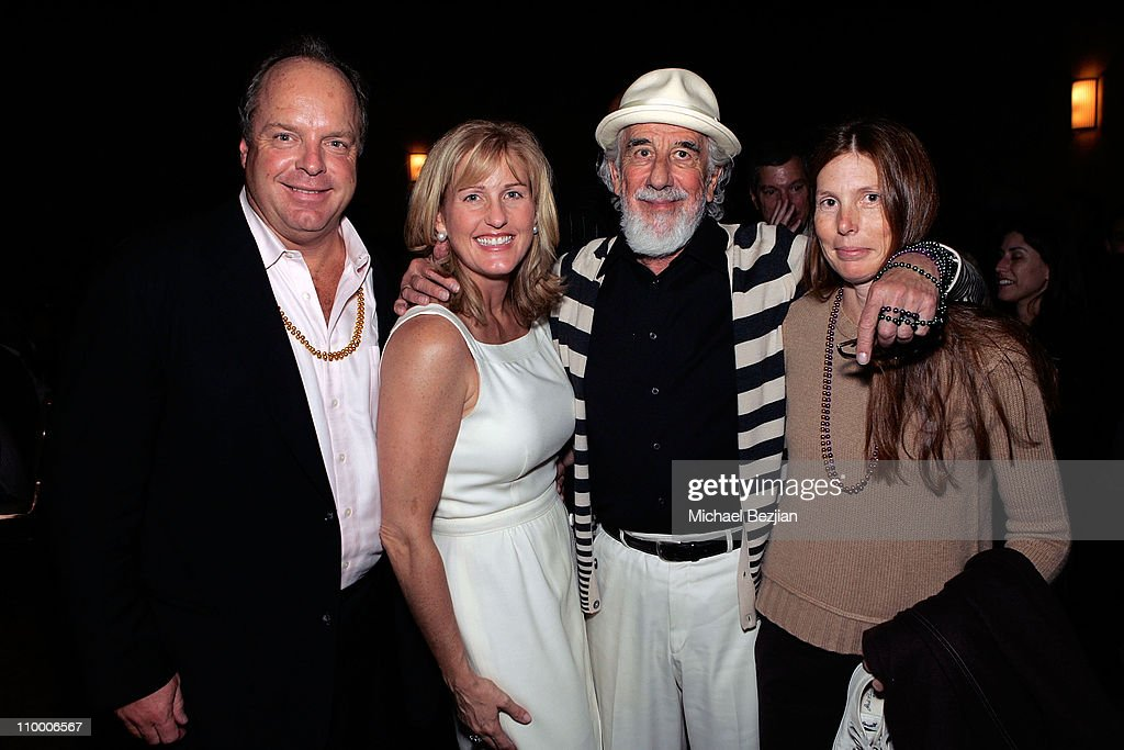 Bill Powers Caroline Powers Lou Adler and Page Hannah pose at the Thelonious Monk Institute of Jazz and the Recording Academy Los Angeles Chapter...