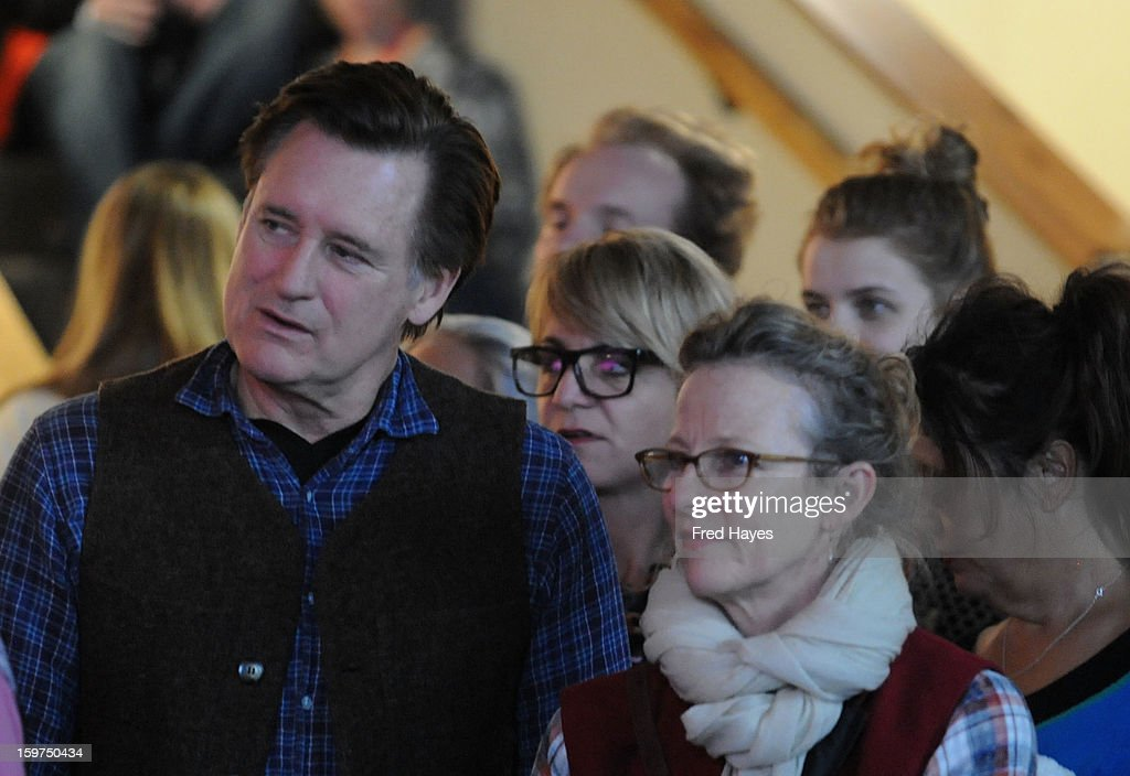 <a gi-track='captionPersonalityLinkClicked' href=/galleries/search?phrase=Bill+Pullman&family=editorial&specificpeople=226899 ng-click='$event.stopPropagation()'>Bill Pullman</a> (L) attends Day 2 of ASCAP Music Cafe at Sundance ASCAP Music Cafe during the 2013 Sundance Film Festival on January 19, 2013 in Park City, Utah.