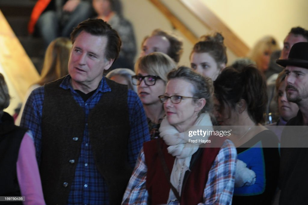 Bill Pullman (L) attends Day 2 of ASCAP Music Cafe at Sundance ASCAP Music Cafe during the 2013 Sundance Film Festival on January 19, 2013 in Park City, Utah.