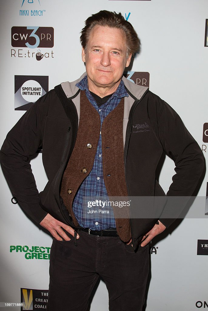 Bill Pullman attends the Creative Coalition Luncheon at Nikki Beach pop-up lounge & restaurant on January 19, 2013 in Park City, Utah.