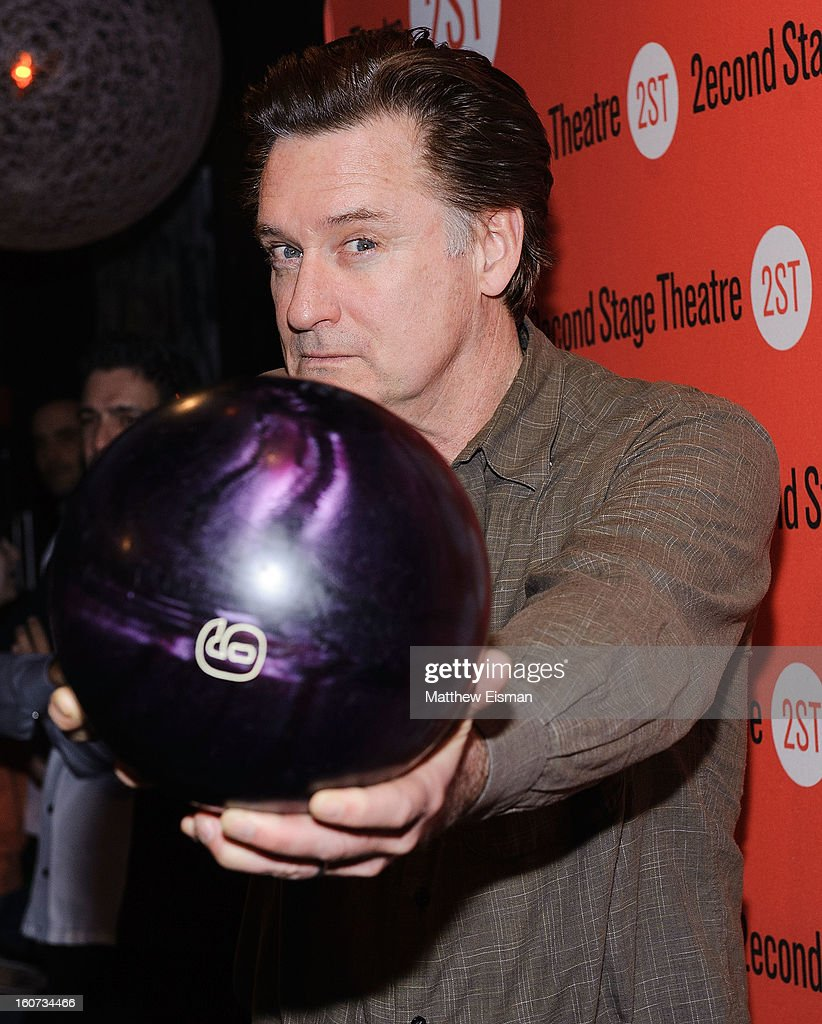 <a gi-track='captionPersonalityLinkClicked' href=/galleries/search?phrase=Bill+Pullman&family=editorial&specificpeople=226899 ng-click='$event.stopPropagation()'>Bill Pullman</a> attends the Second Stage Theatre 2013 Bowling Classic at Lucky Strike on February 4, 2013 in New York City.