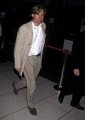 Bill Pullman during Bill Pullman Sighting at Los Angeles International Airport April 21 1995 at Los Angeles International Airport in Los Angeles...