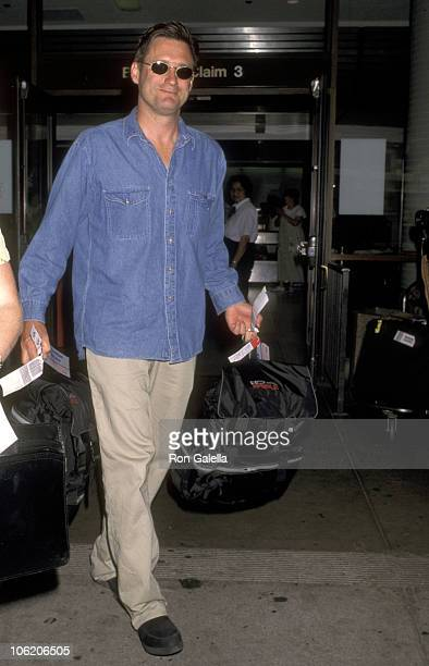 Bill Pullman during Bill Pullman Sighting at Los Angeles International Airport June 25 1996 at Los Angeles International Airport in Los Angeles...