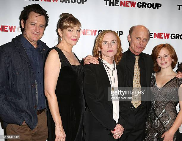 Bill Pullman Glenne Headly Amy Madigan Ed Harris and Juliet Brett attend 'The Jacksonian' opening night after party at KTCHN Restaurant on November 7...