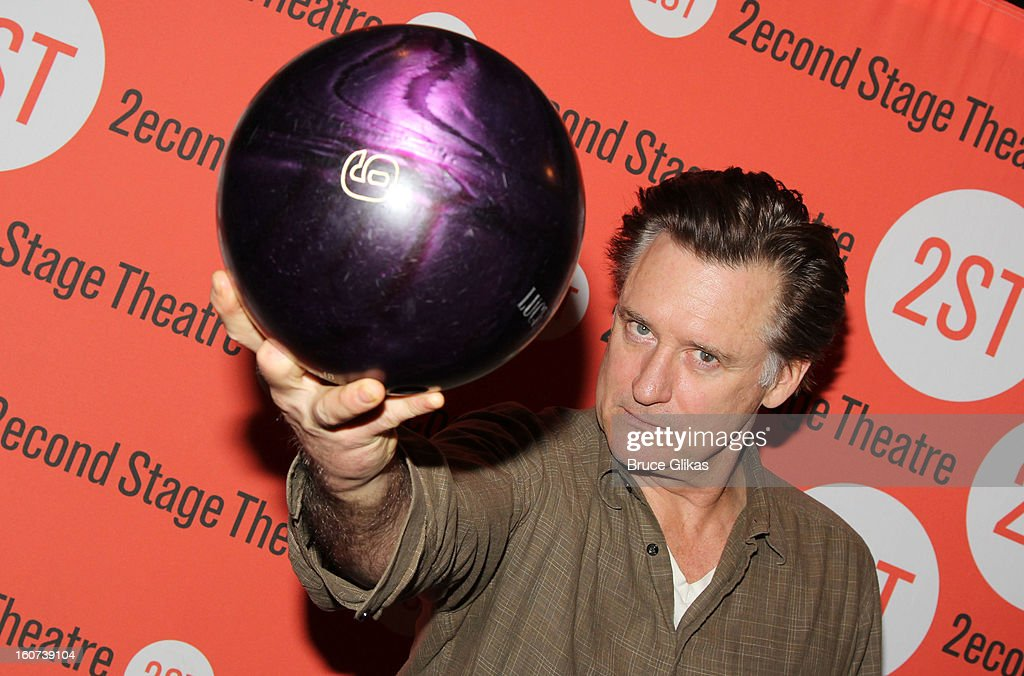 Bill Pullman poses at Second Stage Theatre's 26th Annual All-Star Bowling Classic at Lucky Strike on February 4, 2013 in New York City.