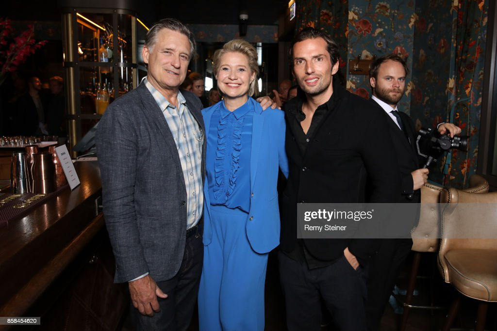 Bill Pullman, Trine Dyrholm and Quirin Berg attend the Tommy Hilfiger VIP Dinner in celebration of the 13th Zurich Film Festival on October 6, 2017 in Zurich, Switzerland.