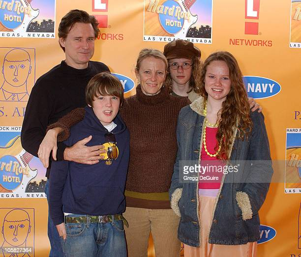 Bill Pullman wife Tamara children Maesa Jack and Lewis