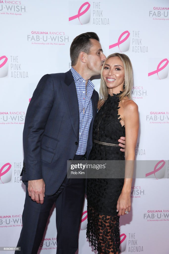 Bill Rancic and Giuliana Rancic attend The Pink Agenda 10th Annual Gala at Three Sixty Degrees on October 5, 2017 in New York City.