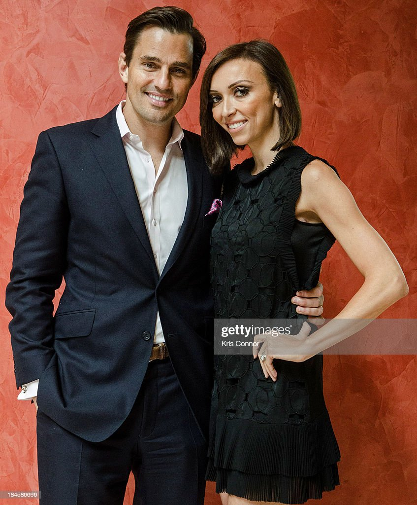 <a gi-track='captionPersonalityLinkClicked' href=/galleries/search?phrase=Bill+Rancic&family=editorial&specificpeople=204496 ng-click='$event.stopPropagation()'>Bill Rancic</a> and <a gi-track='captionPersonalityLinkClicked' href=/galleries/search?phrase=Giuliana+Rancic&family=editorial&specificpeople=556124 ng-click='$event.stopPropagation()'>Giuliana Rancic</a> pose for a portrait at the 2013 Columbus Day luncheon at the Embassy of Italy on October 14, 2013 in Washington, DC.