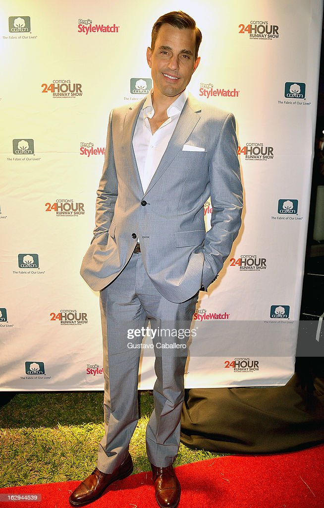 Bill Rancic attends Cotton's 24 Hour Runway Show on South Beach on March 1, 2013 in Miami Beach, Florida.