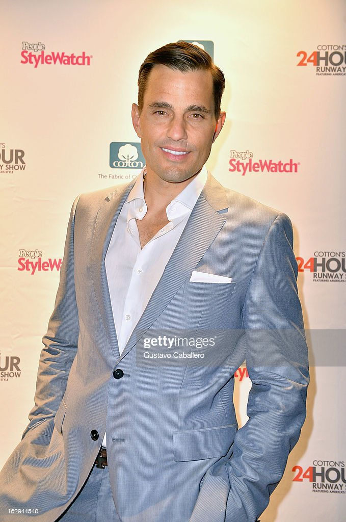 <a gi-track='captionPersonalityLinkClicked' href=/galleries/search?phrase=Bill+Rancic&family=editorial&specificpeople=204496 ng-click='$event.stopPropagation()'>Bill Rancic</a> attends Cotton's 24 Hour Runway Show on South Beach on March 1, 2013 in Miami Beach, Florida.