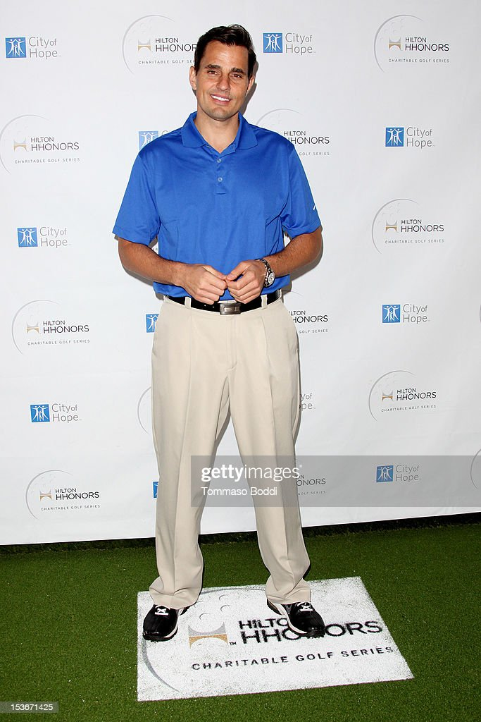 <a gi-track='captionPersonalityLinkClicked' href=/galleries/search?phrase=Bill+Rancic&family=editorial&specificpeople=204496 ng-click='$event.stopPropagation()'>Bill Rancic</a> attends the 6th Annual Hilton HHonors Charitable Golf Series held at The Riviera Country Club on October 8, 2012 in Pacific Palisades, California.