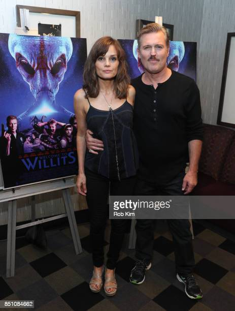 Bill Sage and guest attend the premiere of 'Welcome To Willits' at IFC Center on September 21 2017 in New York City