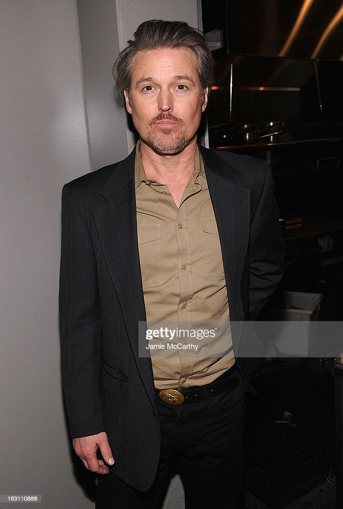 Bill Sage attends the after party for The Cinema Society & Make Up For Ever screening of 'Electrick Children' at Hotel Americano on March 4, 2013 in New York City.