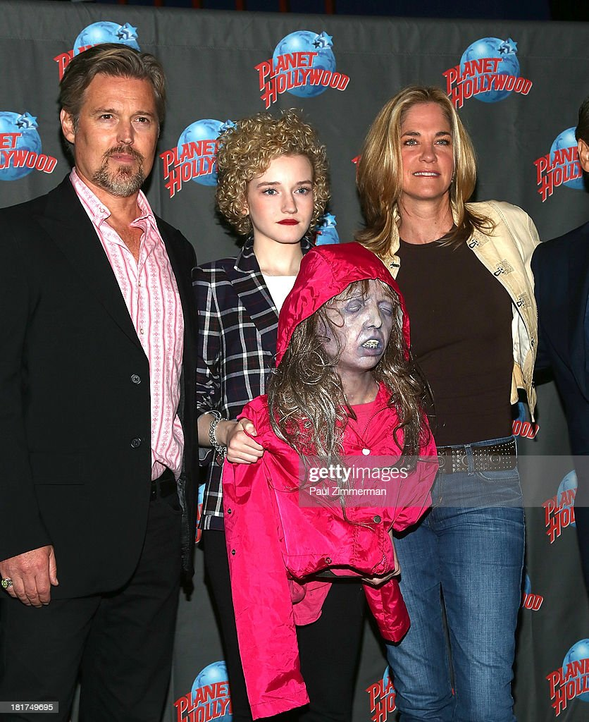 """""""We Are What We Are"""" Cast Members Visit Planet Hollywood Times Square"""